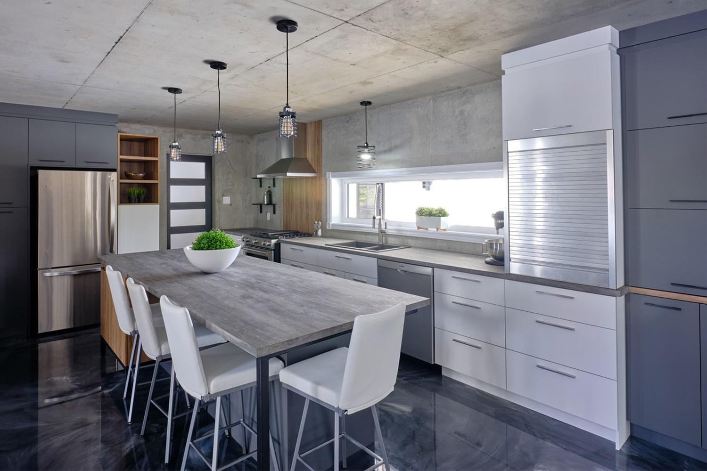 Meuble De Cuisine Industriel armoires et boiseries - armoires de cuisines, salles de bain